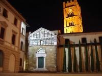 Veduta notturna della Chiesa di S. Jacopo