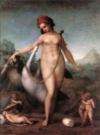 Leda e il cigno (Pontormo, 1512-13)