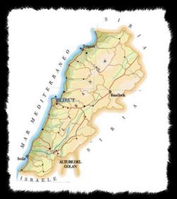Cartina Del Libano.Libano Fascino E Mistero